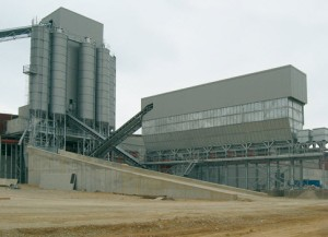 Horizontal Concrete Batching Plant