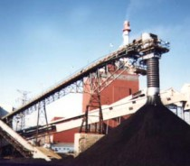 Dust Free Coal Stockpiling